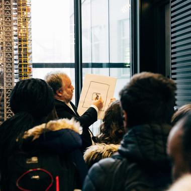 Young Citizens visit to The Leadenhall Building